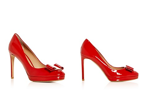 Salvatore Ferragamo Women's Patent Leather High Heel Platform Pumps - Bloomingdale's_2
